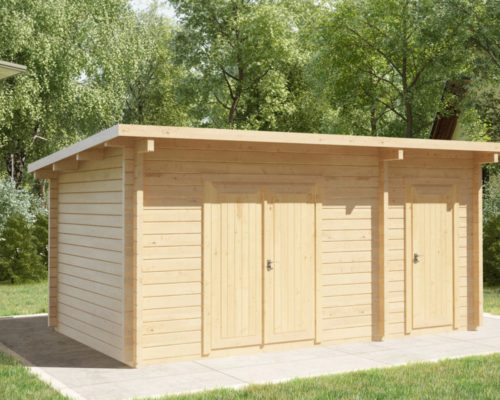 Double shed